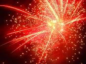 毎年恒例の夏祭り花火